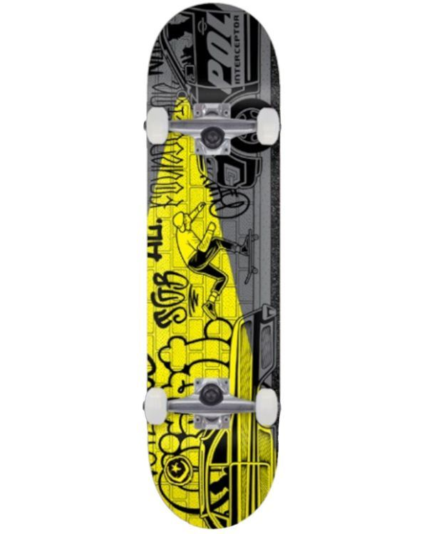 Foundation Mike Giant Push Complete Skateboard